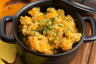 Quinoa with pumpkin