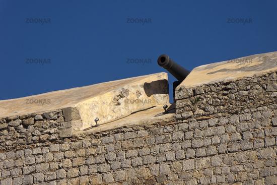 Cannon, Fort Ibiza (Dalt Vila)