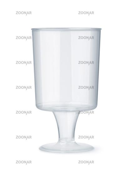 Stemmed disposable sampling shot glass
