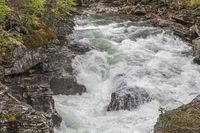 Wildfluss Rauma im Romsdalen