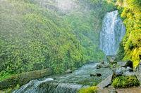 Peguche Waterfall Otavalo Ecuador