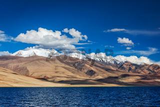 Himalayan lake Tso Moriri