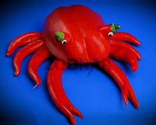 Paprika Krabbe