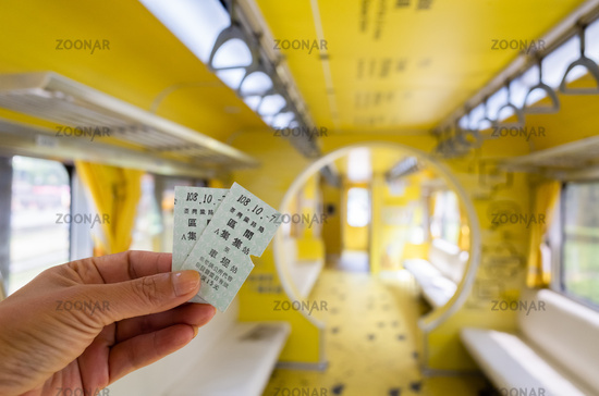 tickets of Taiwan's first mobile museum