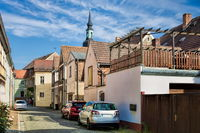 Lübbenau, Deutschland - 23.05.2019 - straße in der altstadt