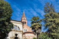 vicenza, italy - 19.03.2019 - chiesa di santa corona