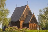 stave church in Hedared
