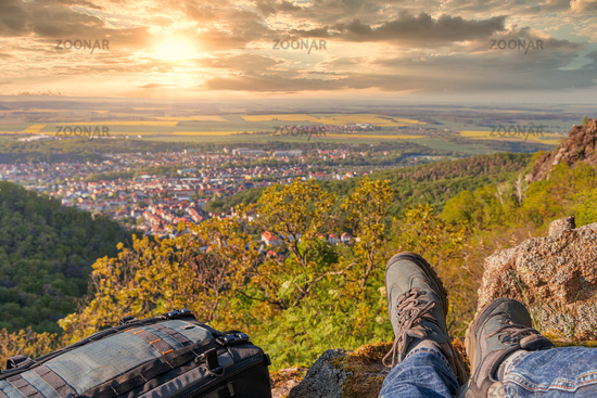 Experience nature hiking in the Harz Bode Valley