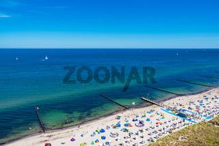 Strand an der Ostseeküste in Kühlungsborn