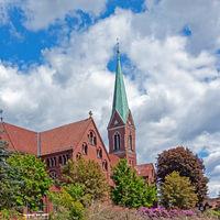 Catholic church St. Gorgonius, Goldenstedt, Lower Saxony, Germany