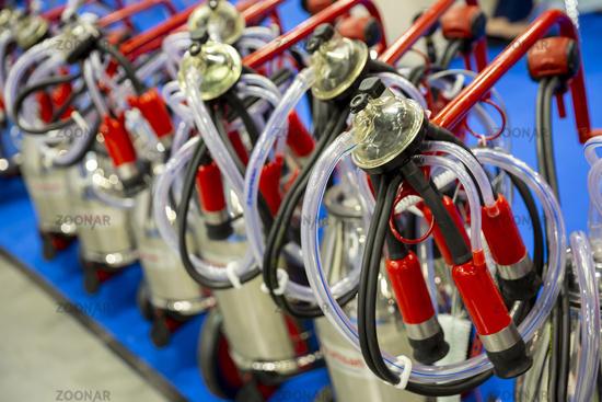 Automatic milking equipment