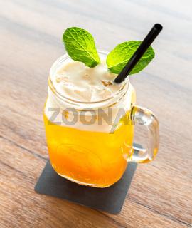 Ice Passionfruit tea