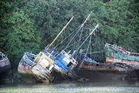 Brittany - ship graveyard