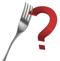 Fork Pierced Question