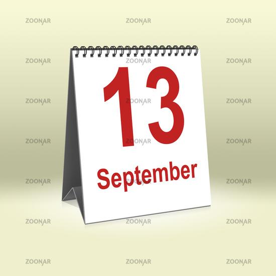 September 13th | 13.September