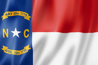 North Carolina flag, USA