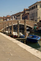 Chioggia with bridge