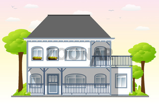 Schönes altes Haus