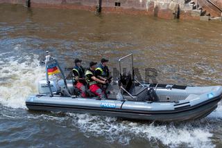 Hamburg harbor police