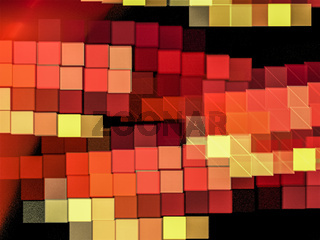 Pixel, Creative background with colored squares as a mosaic, decorative image for advertising or designs