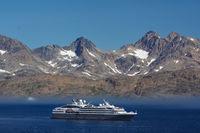 cruise ship in Tasilaq
