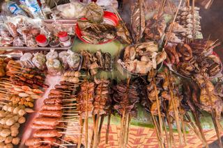 LAO HUAY XAY MARKET VEGETABLE