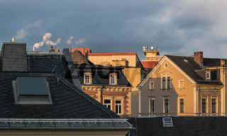 Altstadtdaecher von Hof