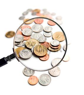 U.S. Coins magnification magnifier