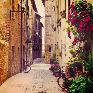 street in Pienza