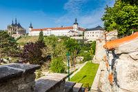 Panorama city of Kutna Hora