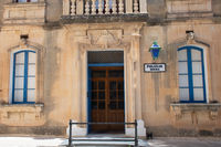 Traditional Police station at historical town of Mdina