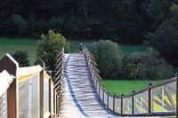 Tatzlwurm Holzbrücke in Essing