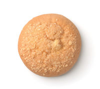Top view of cream cheese cookie