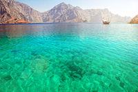 Sea in Musandam Oman