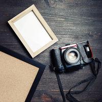 Camera and photo frames