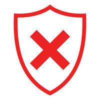 Kreuzung und Schild - Crossing and shield