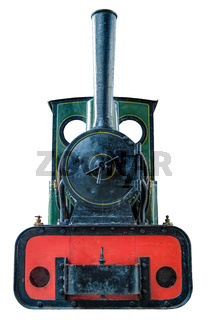 Isolated Small Steam Engine