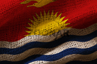 Photo of flag of Kiribati
