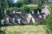 Arlington Row Cottages in Bibury Gloucestershire Cotswolds