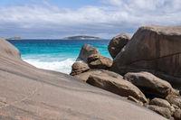 coast detail with rocks
