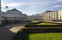 The baroque hunting lodge Stupinigi, Turin