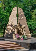 Monument to Honours Afganistan War in Odessa