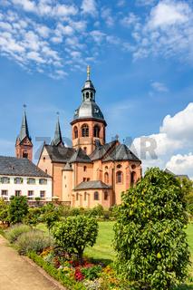 Kloster Seligenstadt im Kreis Offenbach in Hessen
