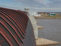 Eider Barrage to protect against storm surges in the North Sea