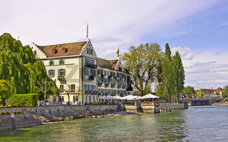 Hotel auf der Dominikanerinsel Konstanz