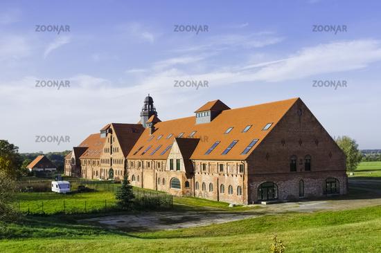 Manufacturing plant of Lunge Lauf- und Sportschuhe GmbH, Duessin, Mecklenburg, Germany
