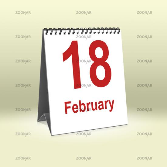 February 18th | 18.Februar