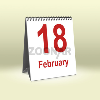 February 18th   18.Februar