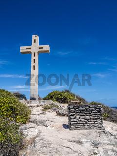 Kreuz am Pointe des Chateaux