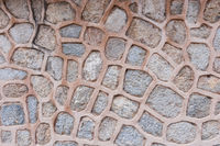 Background pattern of a stone wall